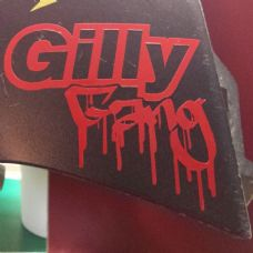 Gilly Gang Sticker/ Decal Gillera, Scooter,